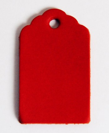 Leather Tag (Luggage Tag B) - Various Color Leather(1 pc)