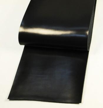 Leather cut in 30cm width, Leather Glazed Tochigi <Black>(29 sq dm)