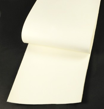 Leather cut in 30cm width, LC Premium Dyed Leather Struck Through <White>