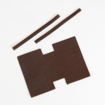 Miniature Tote Bag Kit - LC Leather Side Standard Tooling