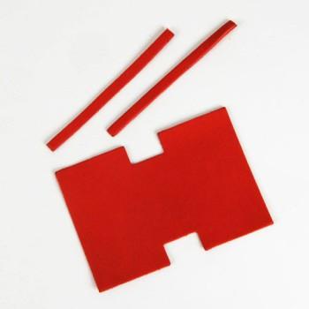 Miniature Tote Bag Kit - C Premium Dyed Leather