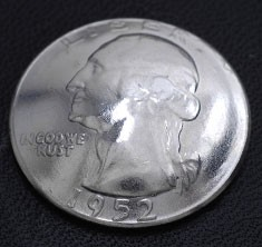 Washington Dollar Coin <Loop Back>