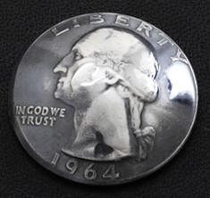 Washington Dollar Coin Matte Finish <Loop Back>