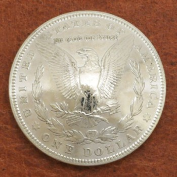 Morgan Dollar 1921 Eagle  BU <Screw Back>