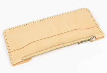 LC M Long Wallet Semi Assembled Inner Parts with Zipper - Tooling Leather Himeji