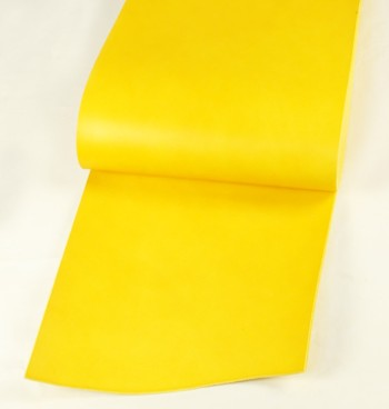 Leather  cut in 30cm width, LC Premium Dyed Leather Struck Through <Yellow>