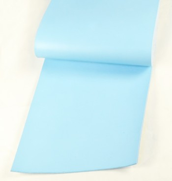 Leather cut in 30cm width, LC Premium Dyed Leather Struck Through <Sky Blue>(28 sq dm)