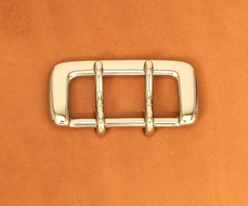 Strap Buckle Double Prong 35N